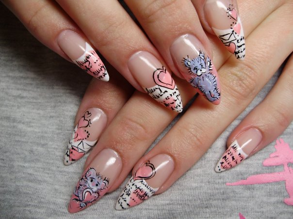 Nail Art 03 Short Nail Designs