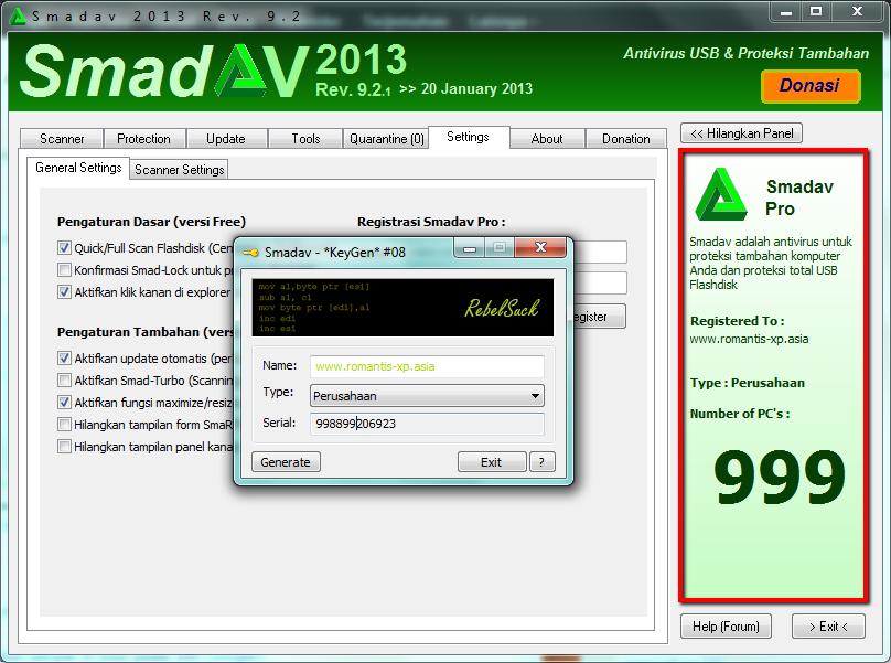 Free Download Antivirus Smadav Terbaru 2013