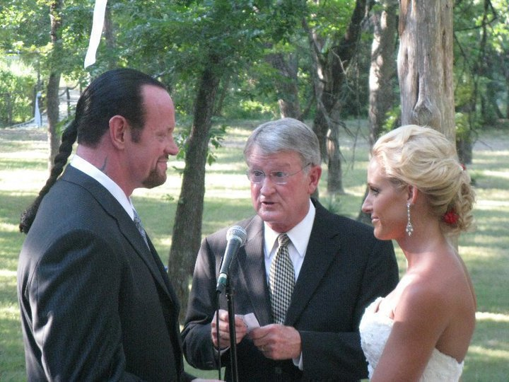 Undertaker Gets Married