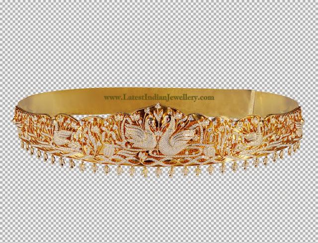 Luxurious Diamond Waist Belt