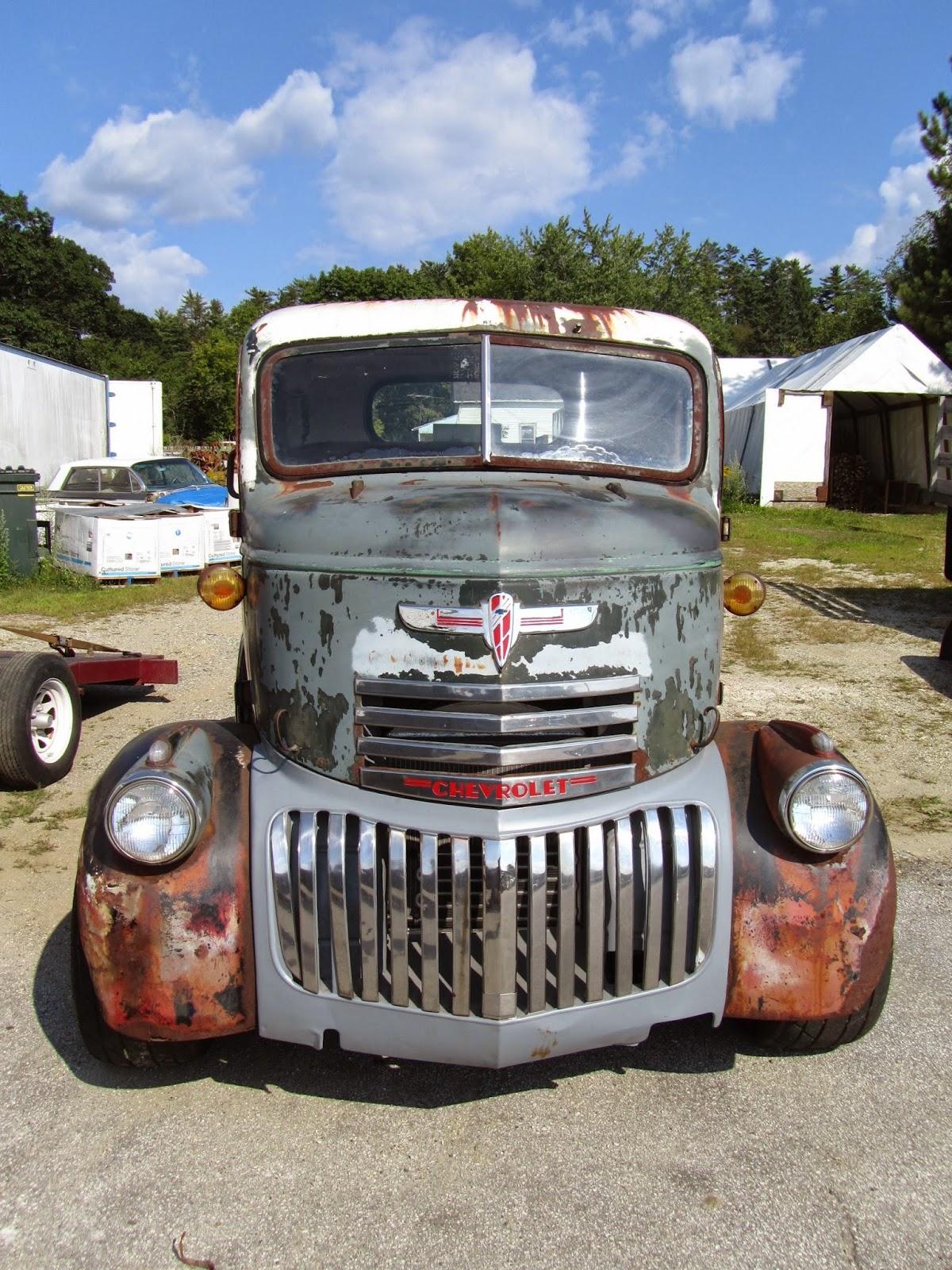 Autoliterate 1946 chevrolet coe tow truck