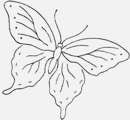 Imagenes y fotos: Mariposas para Colorear, parte 5