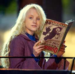 Harry Potter e a Ordem da Fênix - Luna Lovegood