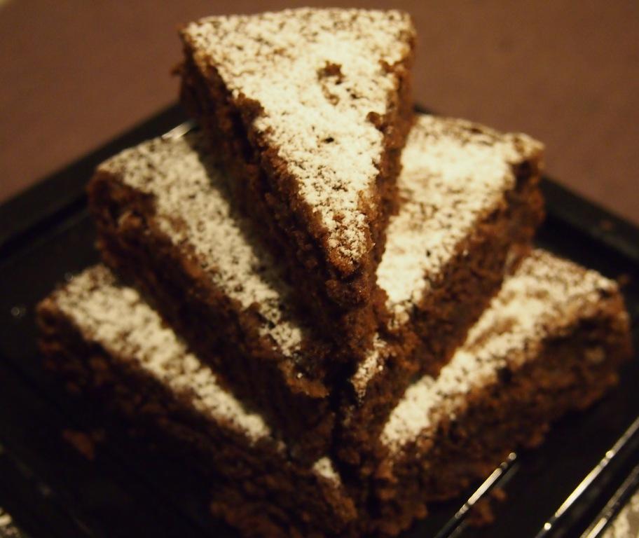 Just Desserts Here: Chocolate Almond Torte Recipe (GF)