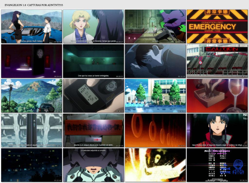 Neon Genesis Evangelion películas 1.0 y 2.0 (MF)