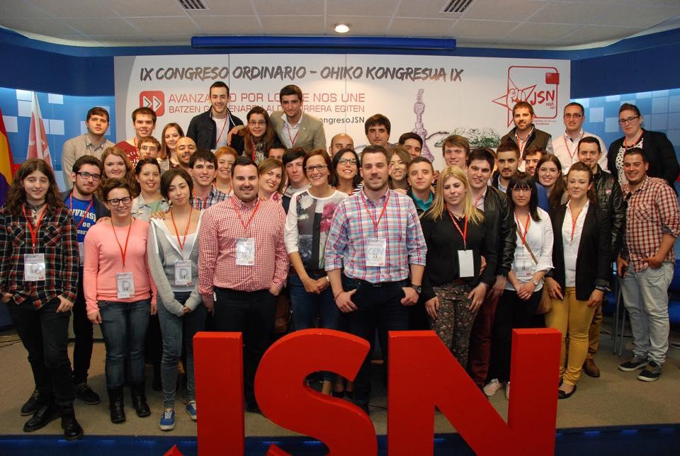 IX Congreso Juventudes Socialistas de Navarra