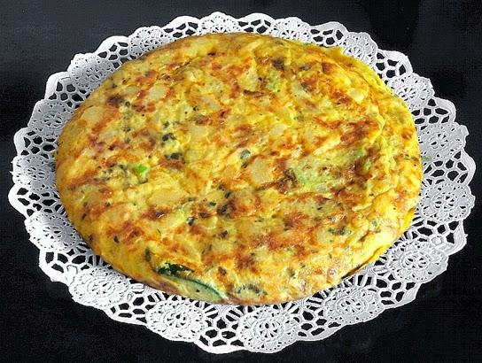 La gastrocinemia tortilla de cebolla y calabac n - Tortilla de calabacin y cebolla ...