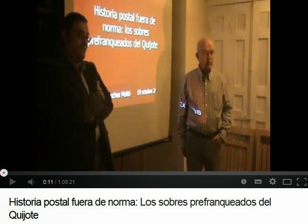 HISTORIA POSTAL FUERA DE NORMA: LOS SOBRES PREFRANQUADOS DEL QUIJOTE (VICENTE SÁNCHEZ MOLTÓ)