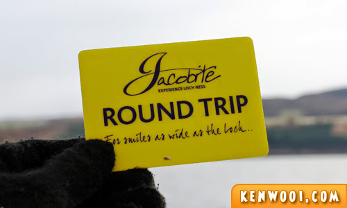 jacobite loch ness ticket