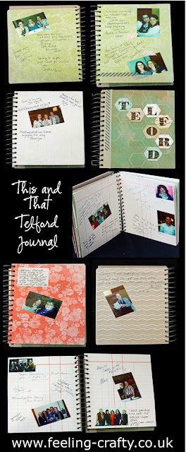 Telford This and That Travel and Special Event Journal / Smash Book by Stampin' Up! Demonstrator Bekka Prideaux - get lots of ideas for your journals and smash books on her blog