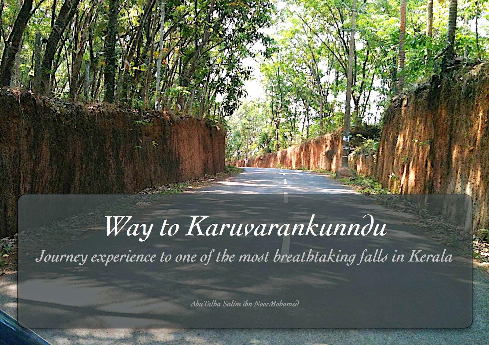 Way to Karuvarankunndu
