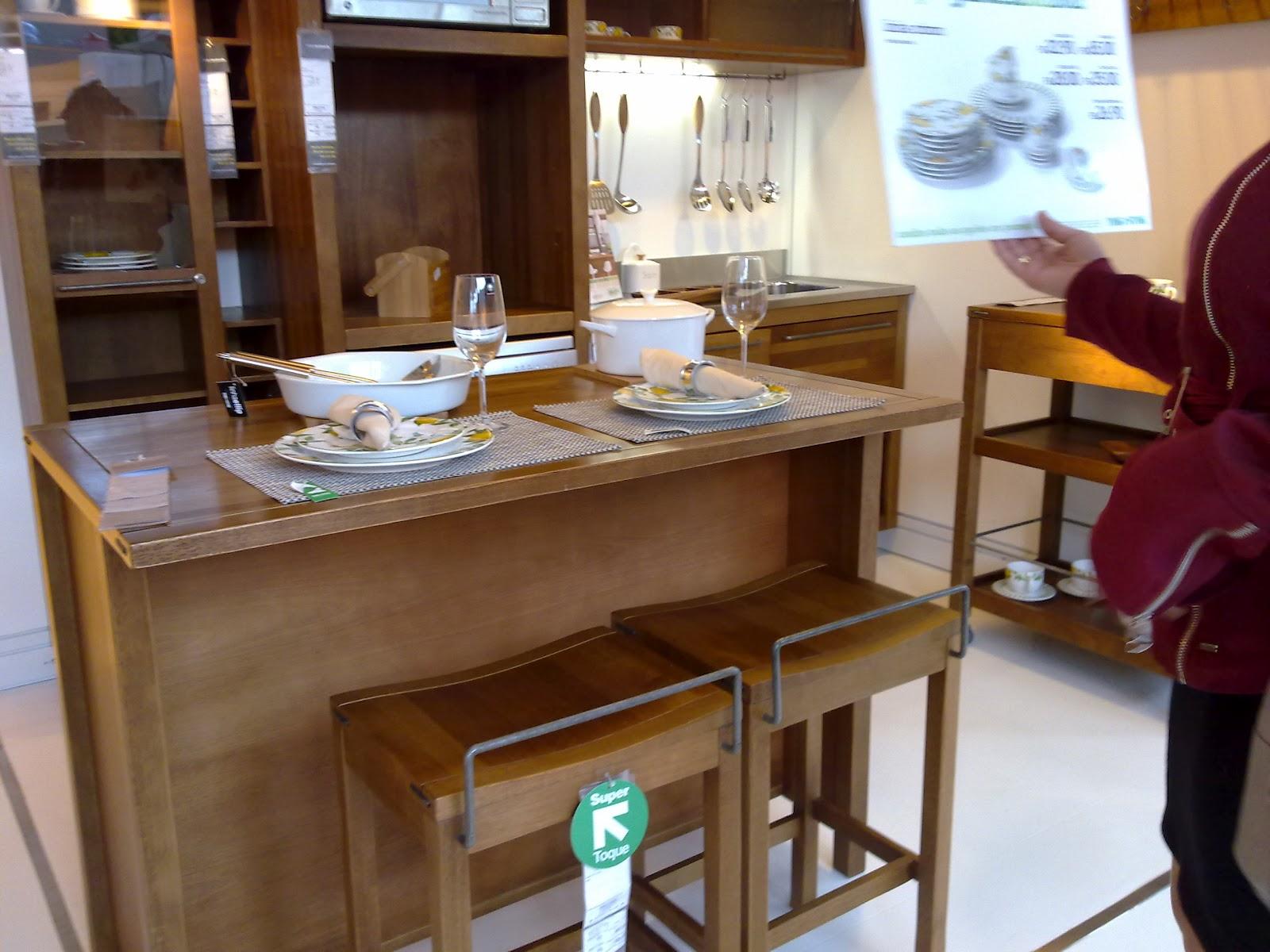 #A76D24  For Blog de decoração: Decoração com Madeira Cozinha rústica 1600x1200 px Balcão Cozinha Americana Tok Stok_1897 Imagens
