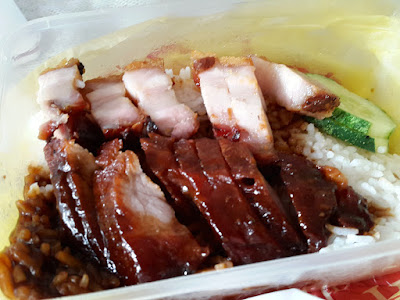 Yummy Roasted Meat Rice at Guan Chee, Star Vista