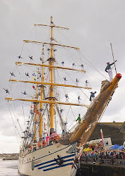 dewa ruci, indonesia tall ship