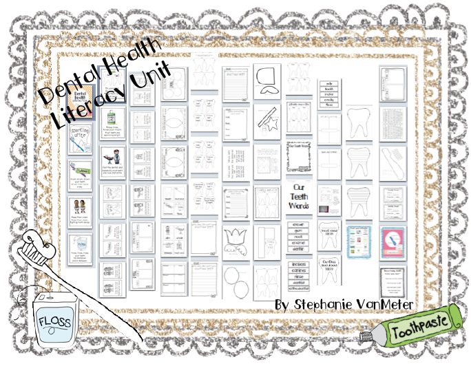 http://www.teacherspayteachers.com/Product/Dental-Health-Literacy-Unit-467695