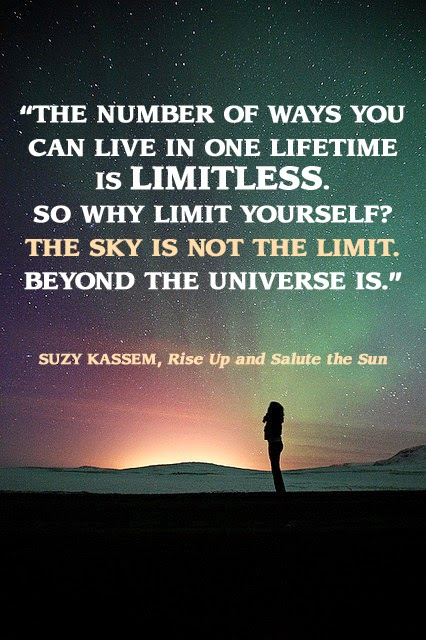 The sky is not the limit Suzy kassem