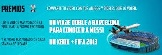 concurso promocion bimbo actileche gana viaje barcelona españa consola xbox fifa videojuego 2013 Mexico