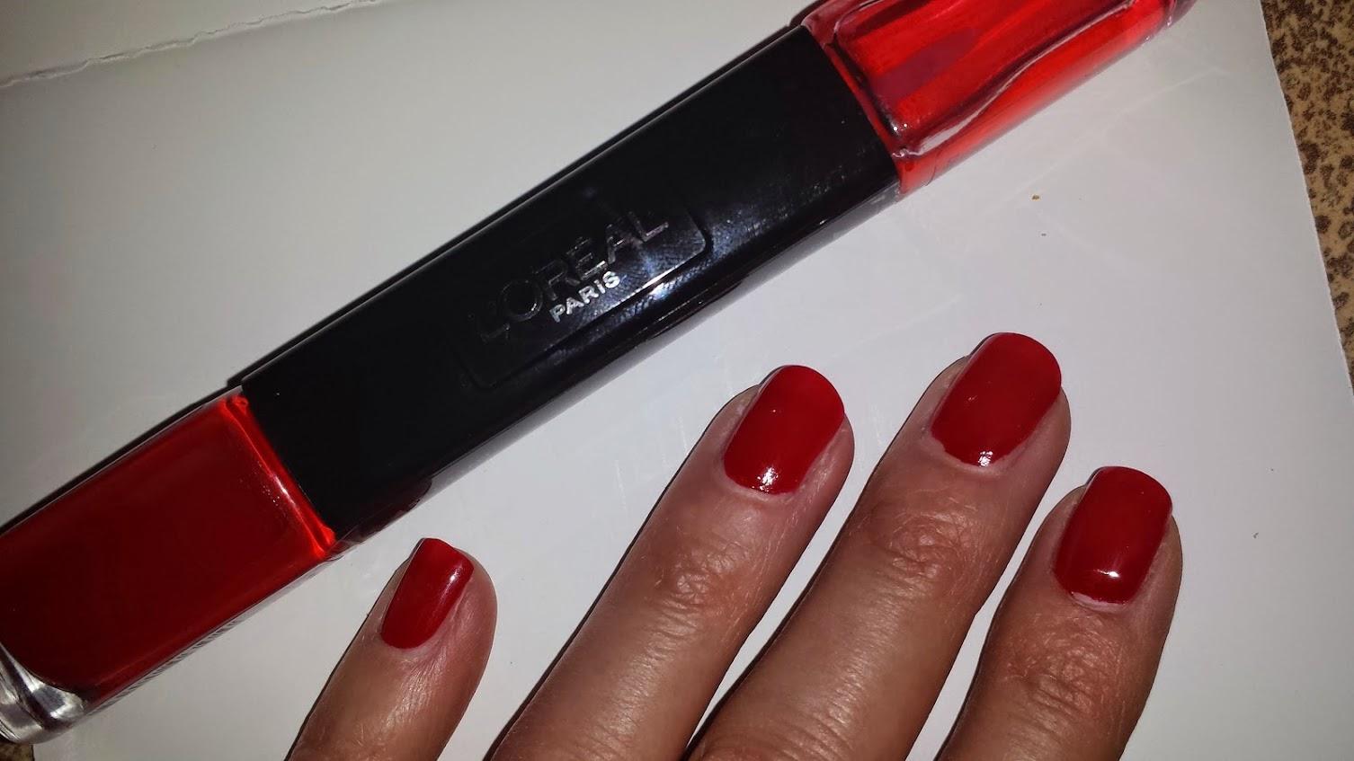 Manucure vernis infaillible L'Oréal