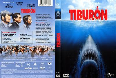 Cover, dvd, carátula: Tiburón | 1975 | Jaws