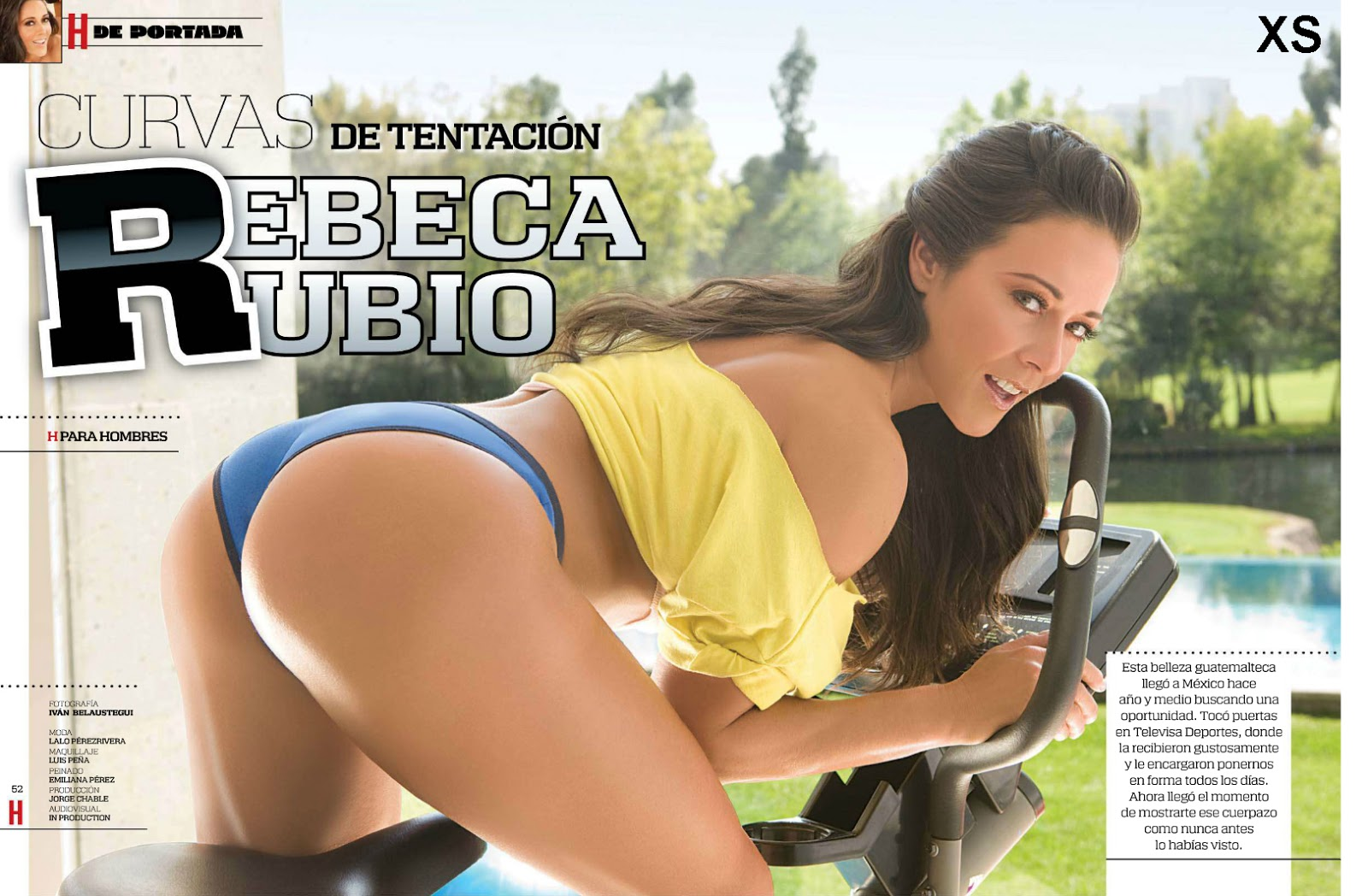 Rebeca Rubio Revista H