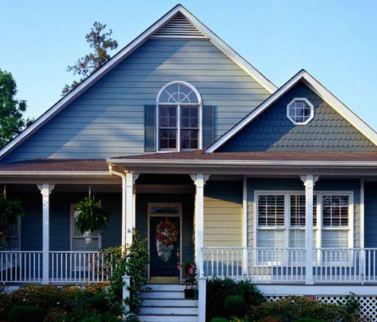 Color For Houses Fascinating Of Blue Exterior House Paint Colors Photo