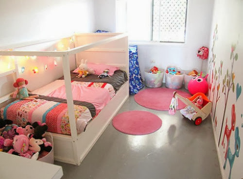 غرف بيبي سرير اطفالي اجمل ديكور غرف للاطفال أثات أطفال غرف سرير أرضي لطفل