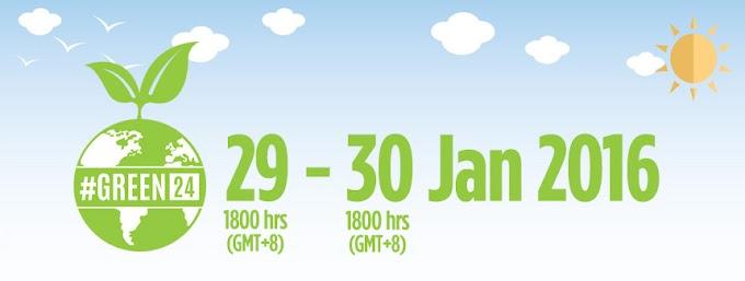 Sertai Air Asia #GREEN24 Challenge & Menangi 24 Tiket Ke Mana-Mana Destinasi Pilihan
