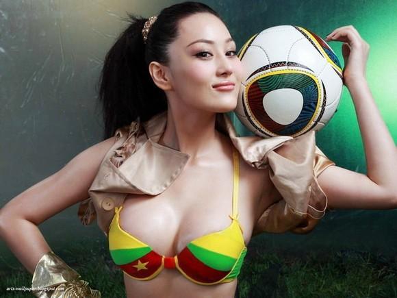 Girls Beauty Wallpaper Zhang Xinyu 55