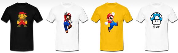 koszulki Super Mario