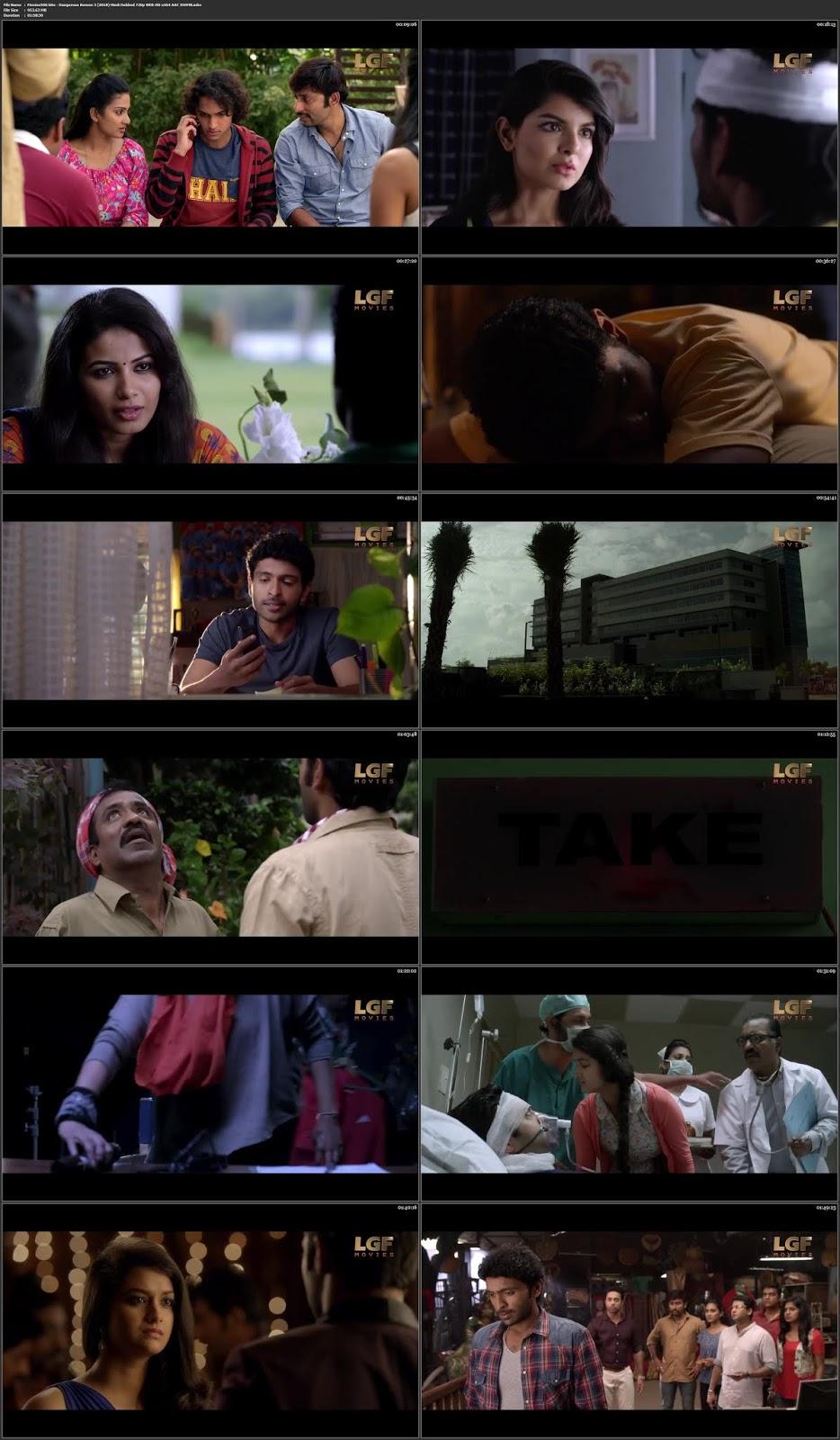 Dangerous Romeo 3 (2018) Hindi Dubbed 350MB WEB HD 480p