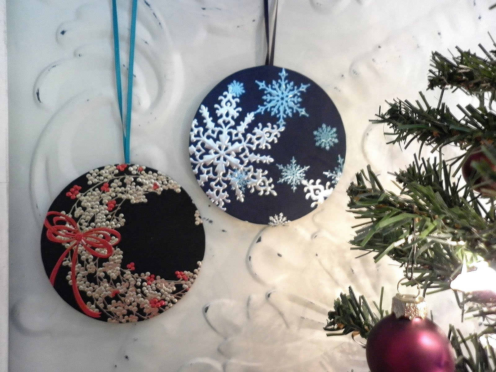 Christmas Crafts With Old Cds