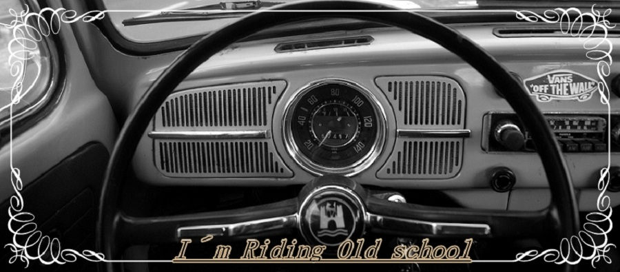 I´m Riding Old School