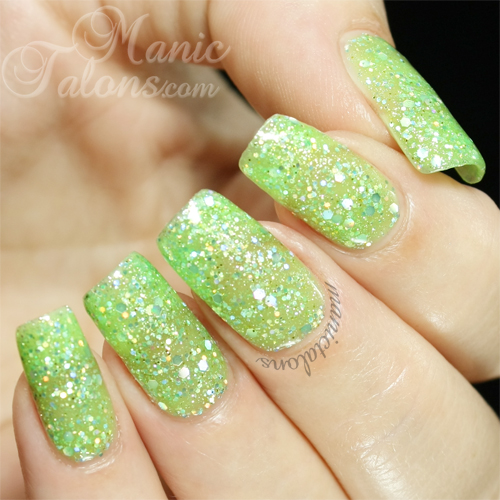 Bundle Monster Gel Polish Pixie Dust Swatch