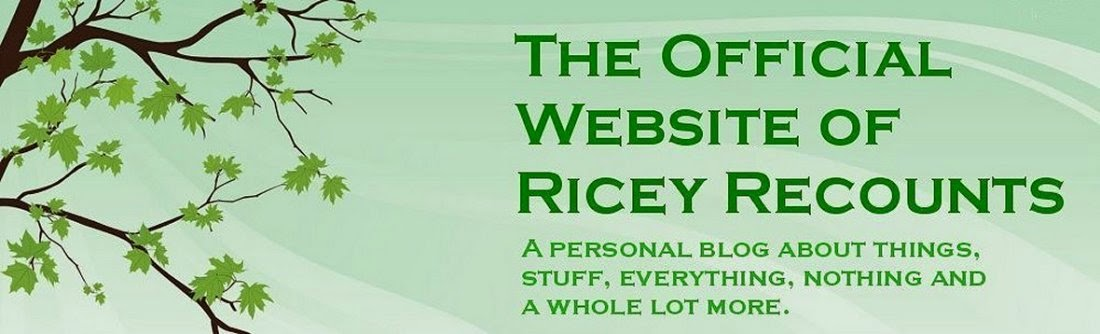 The Official website of Ricey Recounts