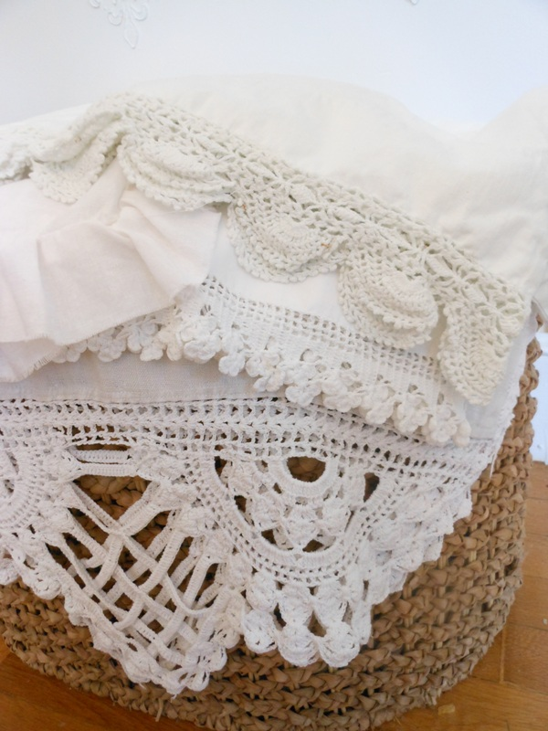 Crocheting Edges : Crochet Edging Around the Home