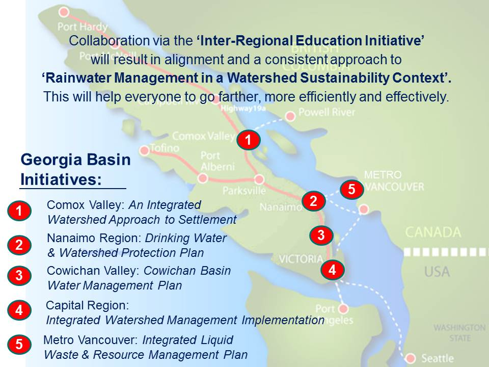 Partnership for water sustainability in bc capital regional capital regional district endorses vancouver island inter regional educational initiative malvernweather Images