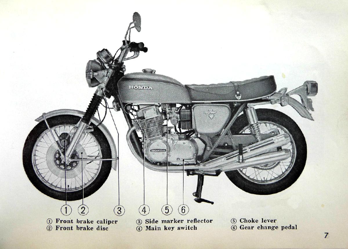 инструкция honda cb 750