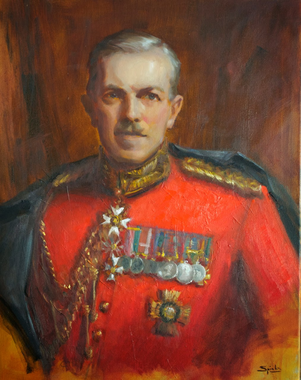Painting Of A General