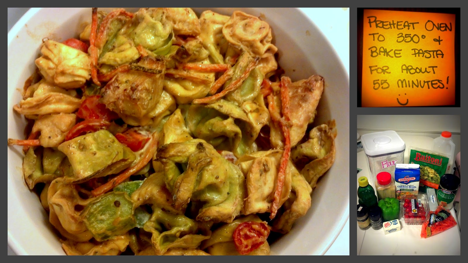 Sugar coated sunshine tortellini and garden vegetable bake Better homes and gardens tonight