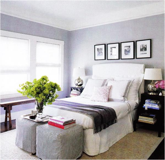 light purple and gray girls bedroom