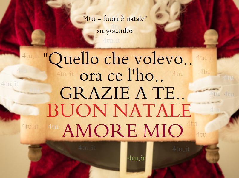 Buon Natale Amore Mio Fuori è Natale Di 4tu Canzoni Di Natale