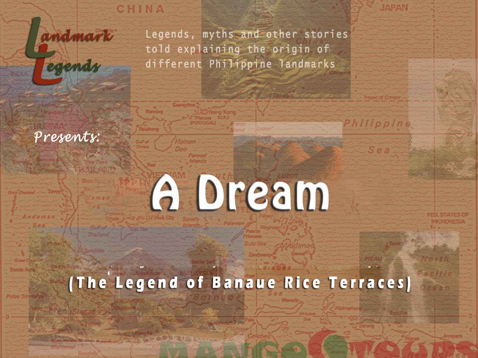 legend of rice Ever wondered where this grain considered as a staple food in asian countries came from this interesting filipino legend of rice might be the answer to that.