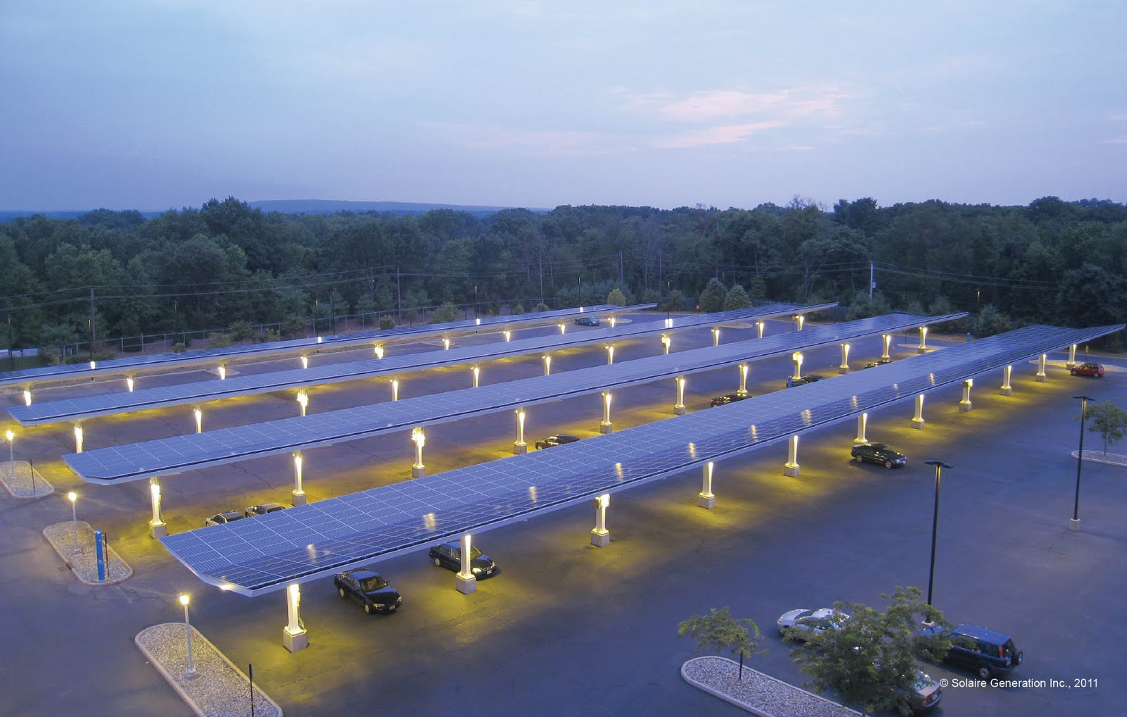 Solaireu0027s Parking Canopies a Cool Solution to Hot Lots & The Green Skeptic: Solaireu0027s Parking Canopies a Cool Solution to ...