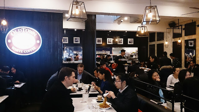 Old Town White Coffee, Melbourne, Malaysian