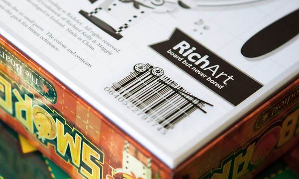 barcodes unik pada bungkusan produk