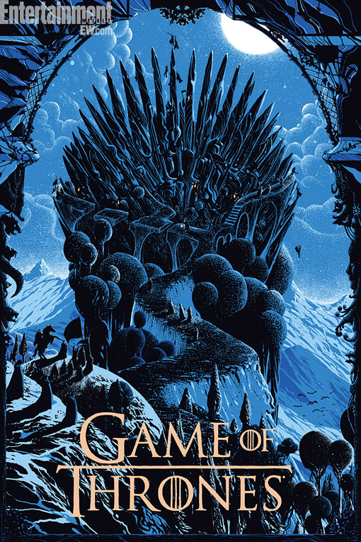 Game of Thrones Mondo Poster