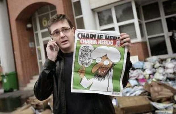 La sede de Charlie Hebdo atacada con tiros, varios muertos y heridos