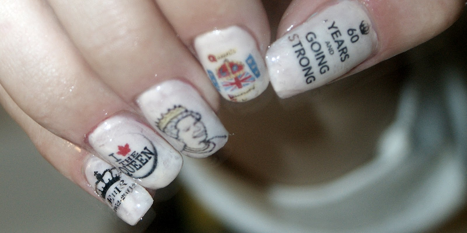 Top Fashion Nails: Nails for Diamond Jubilee of Queen Elizabeth II