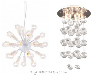 Lighting from StylishBeachHome.com
