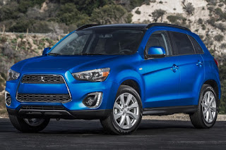 2015 NEw Mitsubishi Sport Outlander adventure front view
